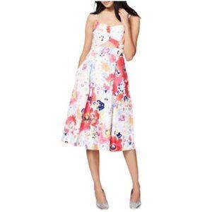NWT Rachel Roy Convertible Colorful Dress